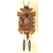 Orig. Schwarzwald- Kuckucksuhr- Hirsch, Jagd, Waldtiere-Cuckoo Clock- handmade Germany Black Forest