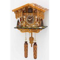 Orig. Schwarzwald- Kuckucksuhr - Musizierende- mit 12 Melodien, Kuckuck -Cuckoo Clocks