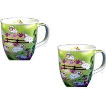 Porzellan- Tasse, Kaffeepott, Kaffeebecher - Teufelchen vom Harz