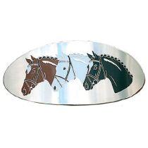Haarspange 3 Pferdeköpfe