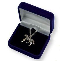 Halskette Pferd Galopp