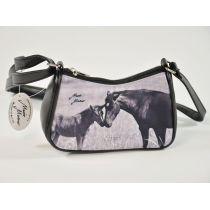Minihandtasche Retro Pferd - Stute mit Fohlen