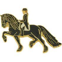Pferde-Pin Friese Dressur