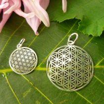 Anhänger Blume des Lebens, Silber 925