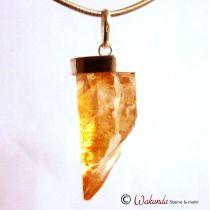 Anhänger Golden Healer in Silberfassung