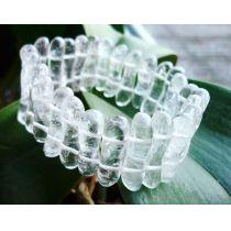 Armband Bergkristall Welle