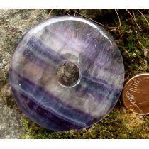 Donut Fluorit 40 mm