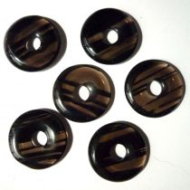 Donut Lamellen-Obsidian, 30 mm