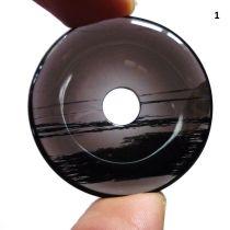 Donut Lamellen-Obsidian, 40 mm