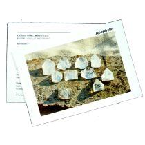 Infokarte / Mineralienkarte Ozeanjaspis