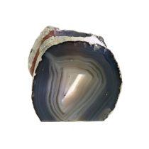 Teelichthalter Achatgeode Anschliff