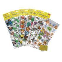 Geburtstagstüten - Give-Away-Tüte - 12 Stück mit Verschlüssen