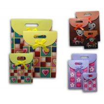 Geschenktaschen - unterschiedliche Größen im Set - 3 Ausführungen