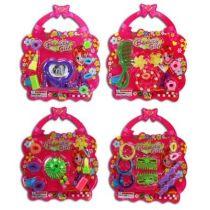 Haarschmuck - Beautyset in Handtaschenform - für Mädchen