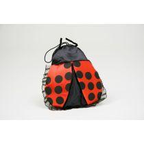 Handtasche Marienkäfer schwarz rot trendy