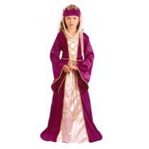 Kinderkostüm - Burgfräulein - Prinzessin - Königin - Queen Mary