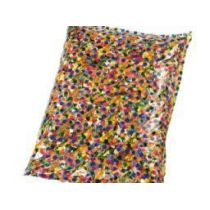 Konfetti, 1000 g - bunte Papierkreise