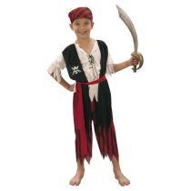 Kostüm - Kinderkostüm - Pirat - Seeräuber - 4 Teile