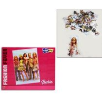 Puzzle - Barbie Puzzle -100 Teile (5-8 Jahre) - Fashion Fever