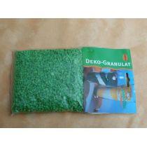 500 Gramm Dekogranulat-fein-grün