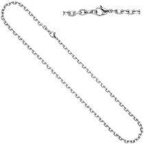 Ankerkette Edelstahl 55 cm Halskette Kette Karabiner