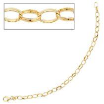 Armband 333 Gold Gelbgold 19 cm - 4,9 mm Goldarmband Karabiner