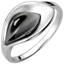 Damen Ring 10,4 mm breit 925 Sterling Silber Silberring