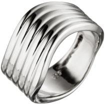Damen Ring 11 mm extra breit 925 Sterling Silber Silberring