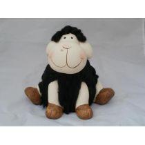 Dekofigur kleines Schaf aus Keramik