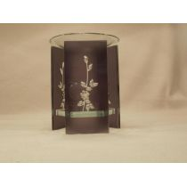 Duftlampe Blume aus Glas