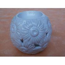 Duftlampe Gänseblümchen aus Keramik