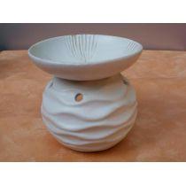 Duftlampe-Wellen aus Keramik, 14 cm
