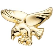 Einzelohrstecker Adler 585 Gold Gelbgold Einzelohrring