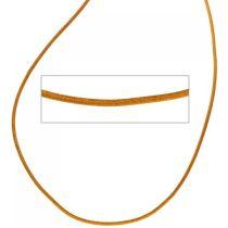 Lederschnur curry ca. 100 cm lang Halskette Kette Leder