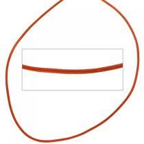 Lederschnur hellbraun ca. 100 cm lang Halskette Kette Leder