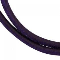 Lederschnur lila dunkel ca. 100 cm lang Halskette Kette Leder