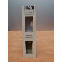 Raumduft Vanille 30 ml mit Bambusstäbchen