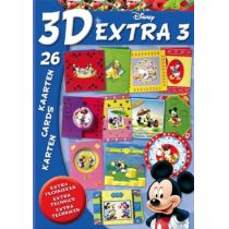 3D Buch Disney Extra 3 Mickey & Friends