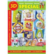 3D Buch Herrenkarten 26 St. Special 11