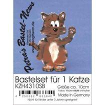 Bastel-Set Katze ca. 100mm