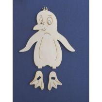Bastel-Set Pinguin stehend ca. 100 mm