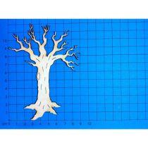 Baum im Winter ohne Laub