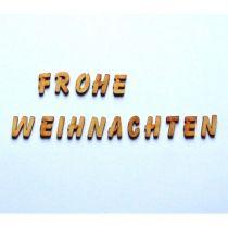 Buchstabenset FROHE WEIHNACHTEN 19MM