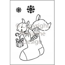 Clearstamp Eline s clear stamps x-mas stocking