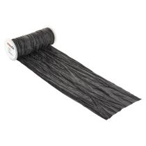 CREApop® Fripe Dekoband 20 cm x 10 m, schwarz