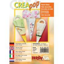 CREApop®Geschenkbox Spitztüte 19x6cm