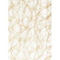 CREAweb Deko-Strukturvliese gold