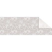 """Designkarton """"Starlight"""" Hochzeit weiß/silber DIN A4"""