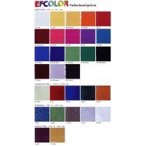 Efcolor Farbschmelzpulver, Metallic-Effekt stuktur