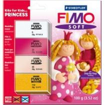 FIMO SOFT Modellier-Set Kits for Kids Prinzessin
